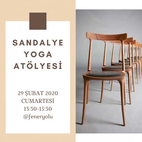Sandalye Yoga Atölyesi