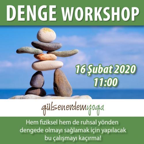 Gülsen Erdem ile Denge Workshopu