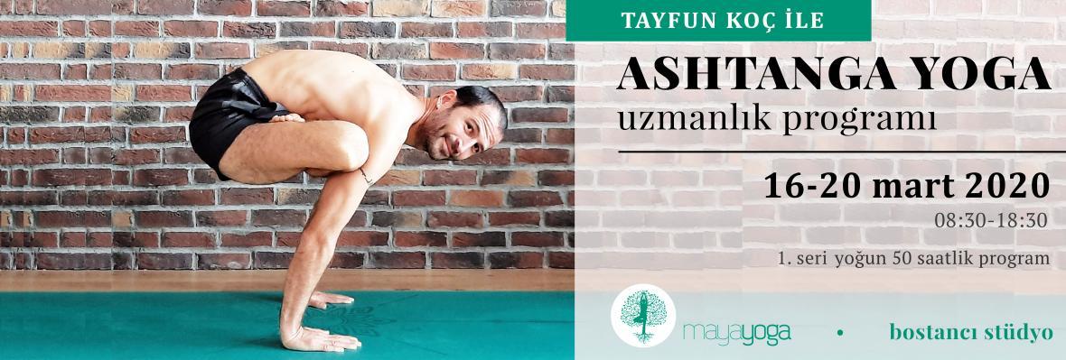 Tayfun Koç ile Ashtanga Yoga Uzmanlık Programı