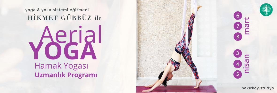 Hikmet Gürbüz ile Hamak Yogası - Aerial Yoga - Uzmanlık Programı
