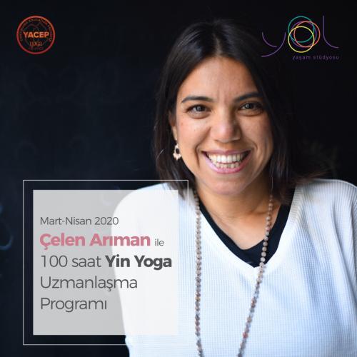 Çelen Arıman 100 Saat Yin Yoga ve Anatomi Uzmanlık Programı