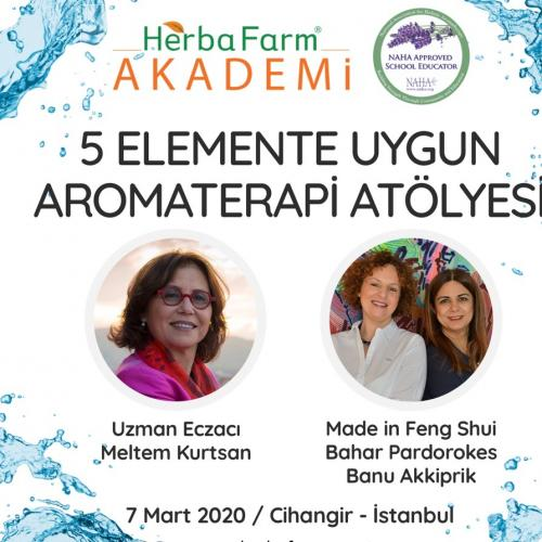 5 Elemente Uygun Aromaterapi Atölyesi