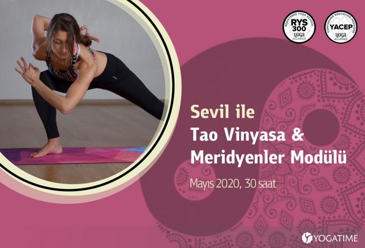 Tao Vinyasa & Meridyenler Modülü – 30 Saat