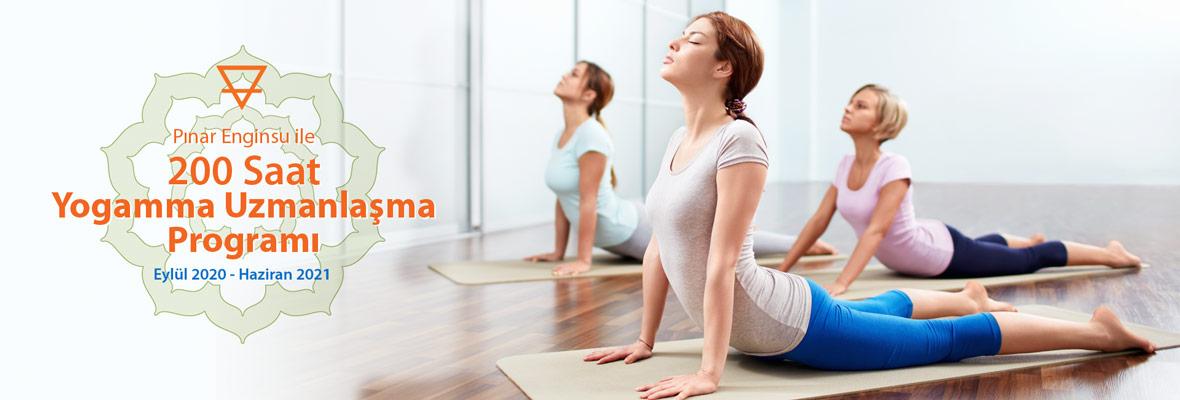 Pınar Enginsu ile 200 Saat Yogamma Temel Uzmanlaşma Programı