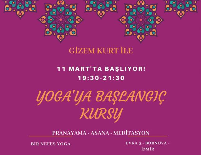 Gizem Kurt ile Yoga'ya Başlangıç Kursu Gizem Kurt