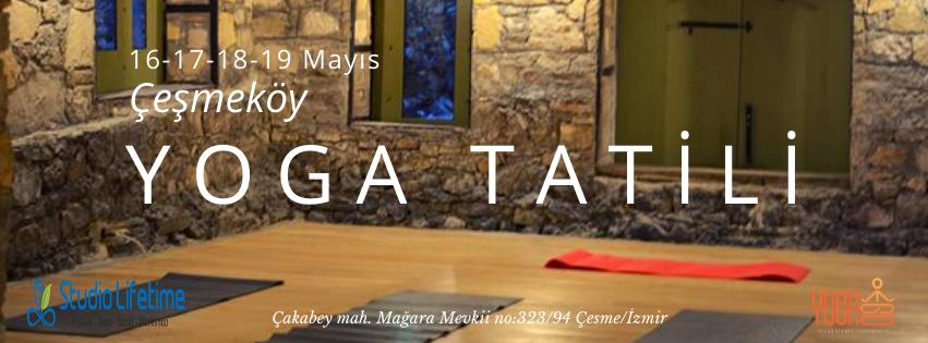 Çeşmeköy'de Yoga Pranala Ve Fly Yoga Kampı