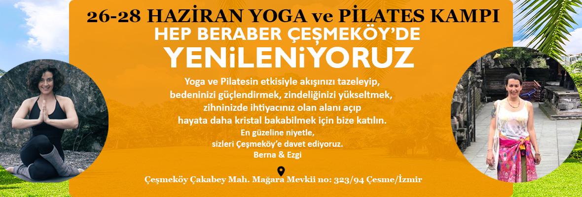 Çeşmeköy'de Yoga Ve Pilates Kampı