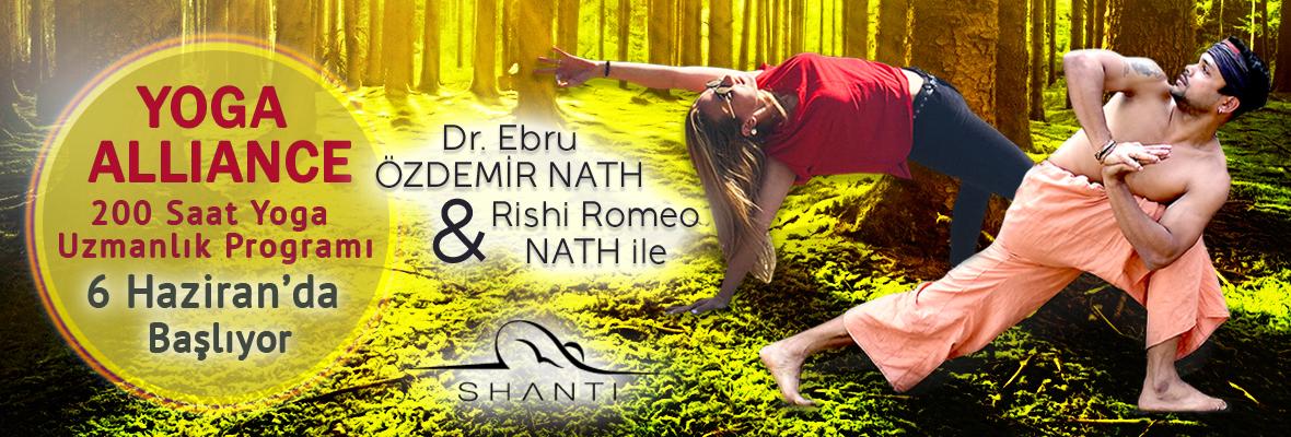 Dr. Ebru Özdemir Nath & Rishi Nath ile Yoga Uzmanlık Programı