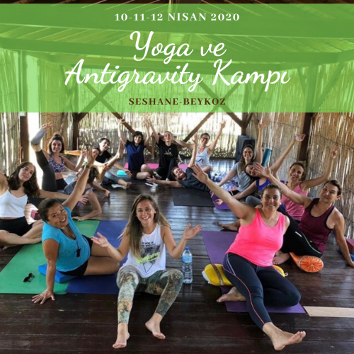 2. Yoga ve Antigravity Kampı Nesteren Akçay
