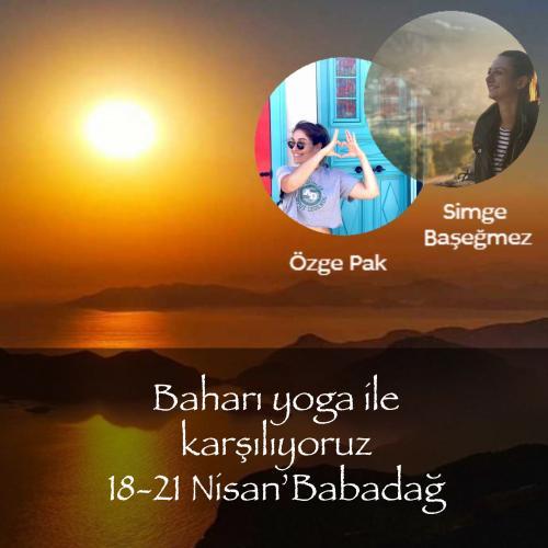 Bahara Merhaba Demeye Babadağ'a Gidiyoruz Özge Pak