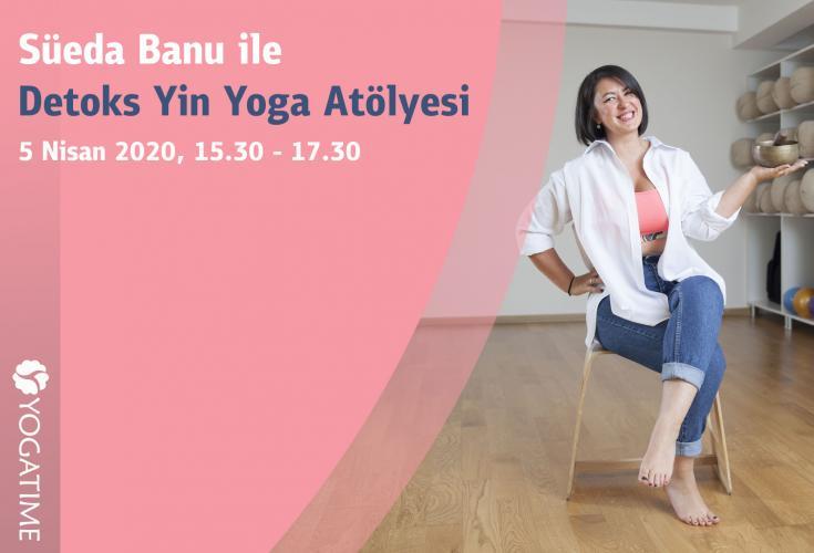 Detoks Yin Yoga Atölyesi