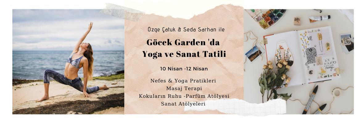 Seda ve Özge ile Göcek'de Yoga ve Sanat Kampı