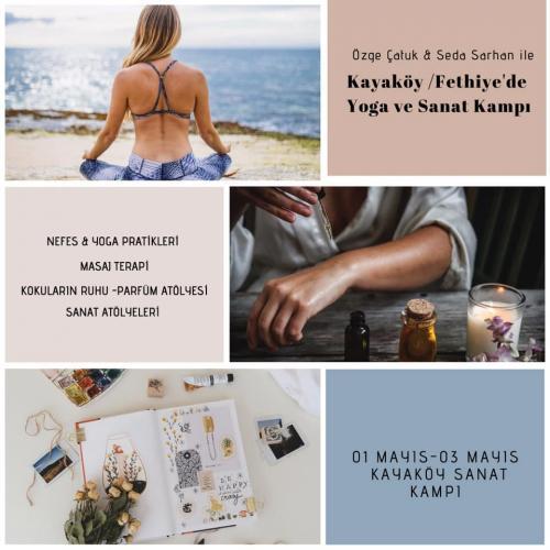 Seda ve Özge ile Kayaköy'de Yoga ve Sanat Kampı