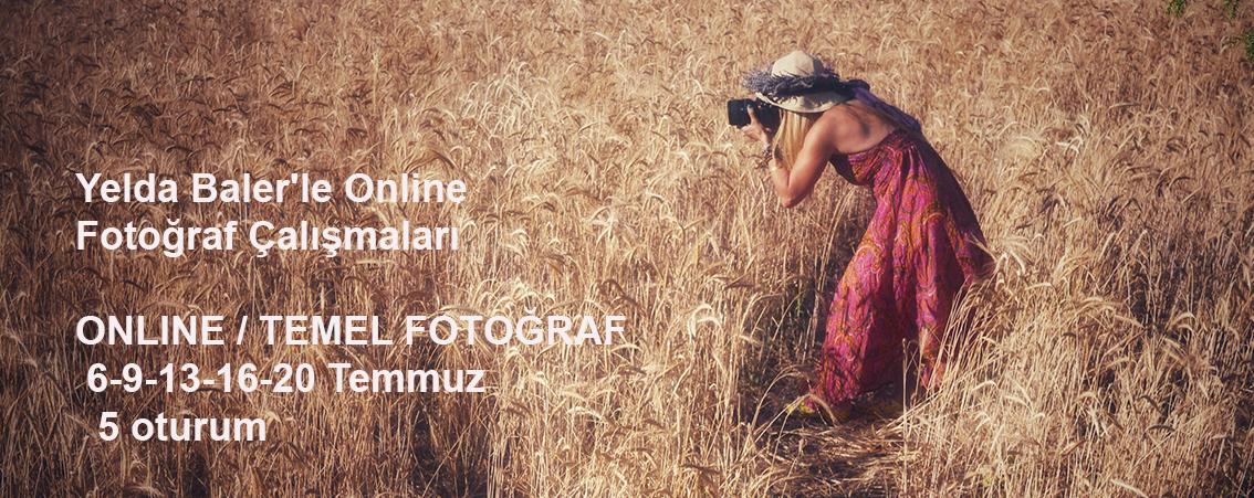 Yelda Baler'le Online Temel Fotoğraf