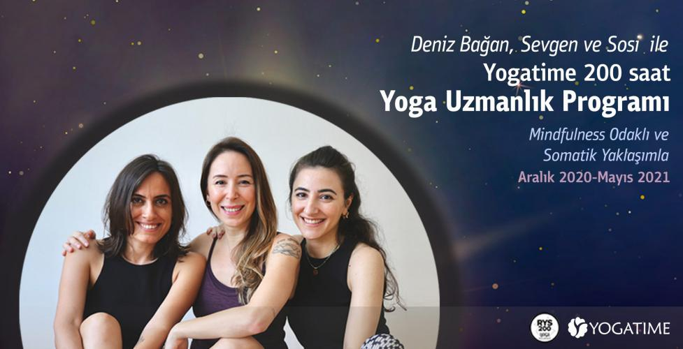 Yogatime Yoga Alliance Onaylı 200 Saat Yoga Uzmanlık Programı