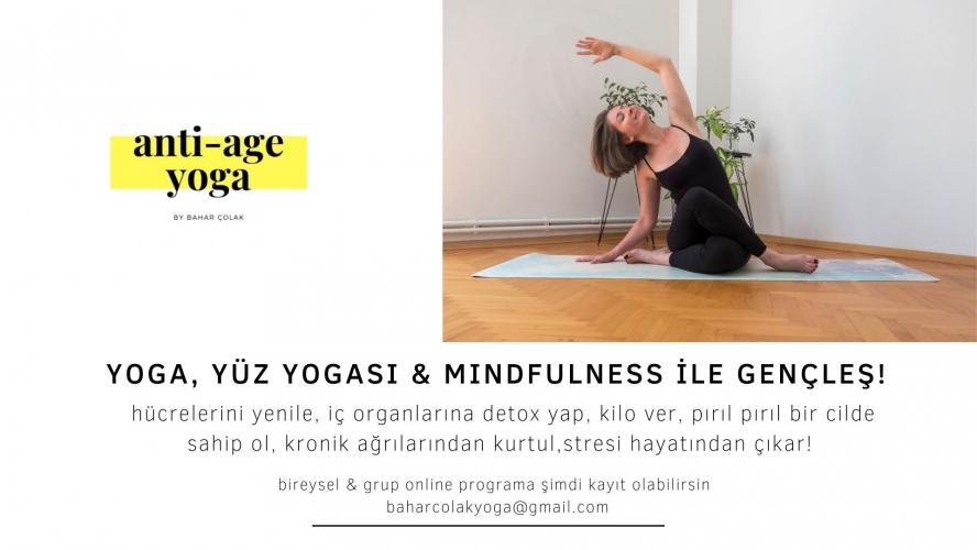 Anti-Age Yoga & Yüz Yogası
