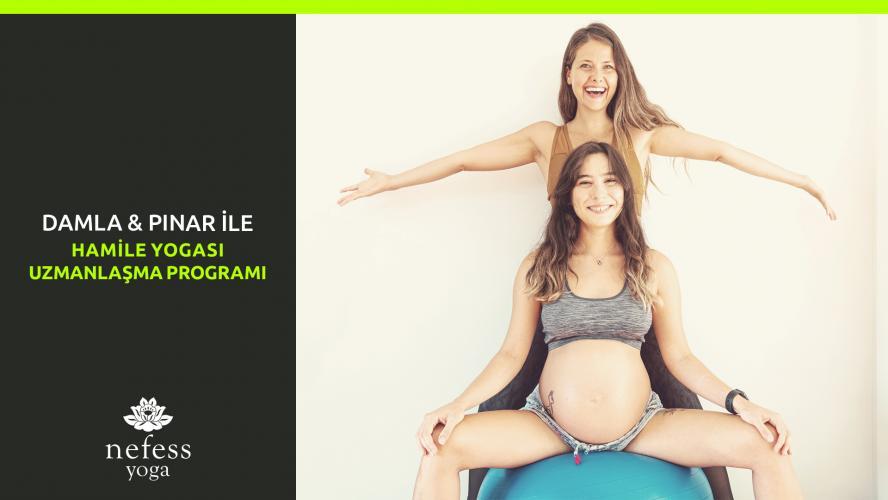 Pınar&Damla ile Hamile Yogası Uzmanlaşma Programı