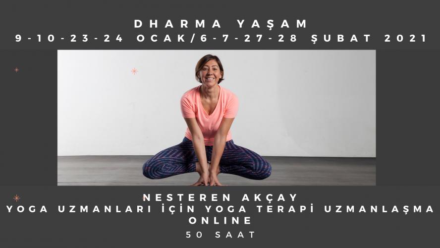 Nesteren Akçay ile Yoga Hocalarına Özel Yoga Terapi - Terapötik Çözüml