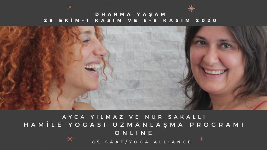 Ayca Yılmaz ve Nur Sakallı ile Hamile Yogası Uzmanlaşma Programı