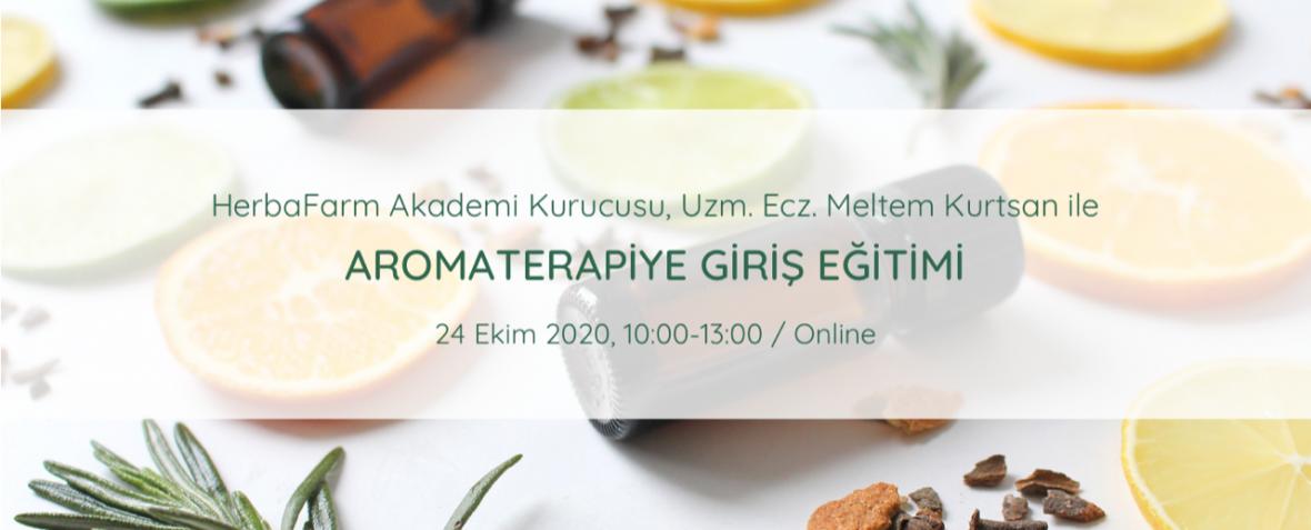 Aromaterapiye Giriş Programı