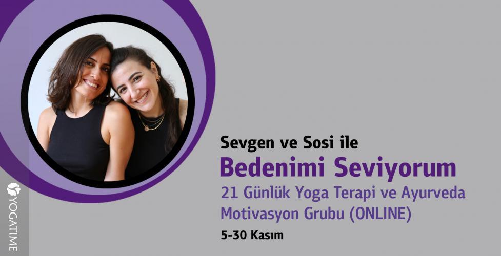 21 Günlük Yoga Terapi Motivasyon Grubu