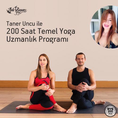 Taner Uncu İle 200 Saatlik Temel Yoga Uzmanlık Programı