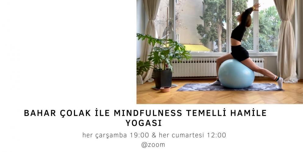 Bahar Çolak ile Mindfulness Temelli Hamile Yogası