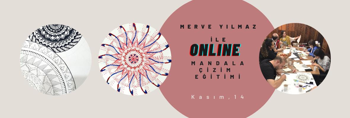 Merve Yılmaz ile Mandala Çizimi Eğitimi Merve Yılmaz
