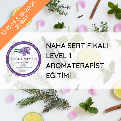 NAHA Sertifikalı Level 1 Aromaterapist Uzmanlık Programı
