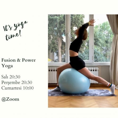 Bahar Çolak ile Fusion & Power Yoga