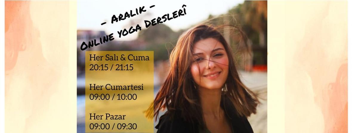 Aralık Ayı Online Yoga Programı