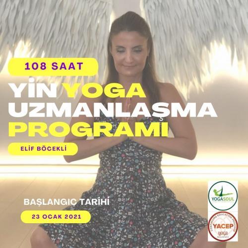 Yin Yoga Uzmanlaşma Programı 108 Saat Yoga Alliance Onaylı