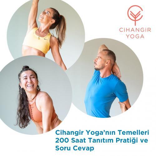 Cihangir Yoga'nın Temelleri 200 Saat