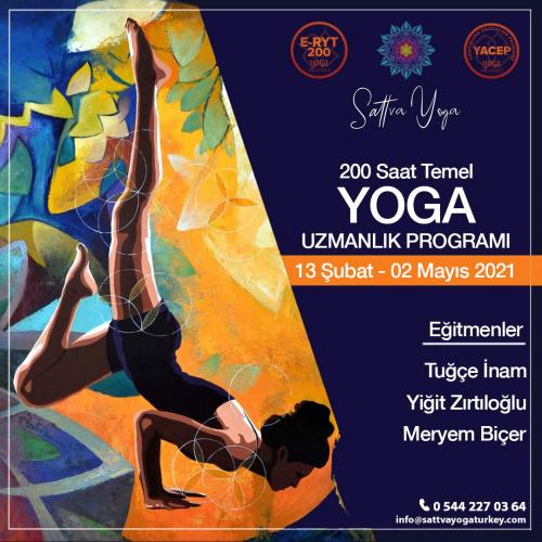 200 Saat YA Onaylı Yoga Uzmanlaşma Programı
