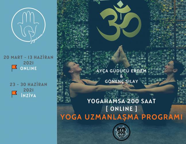 YogaHamsa 200 saat Yoga Uzmanlaşma Programı Ayça Güdücü Erdem