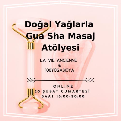 Doğal Yağlarla Gua Sha Masaj Atölyesi