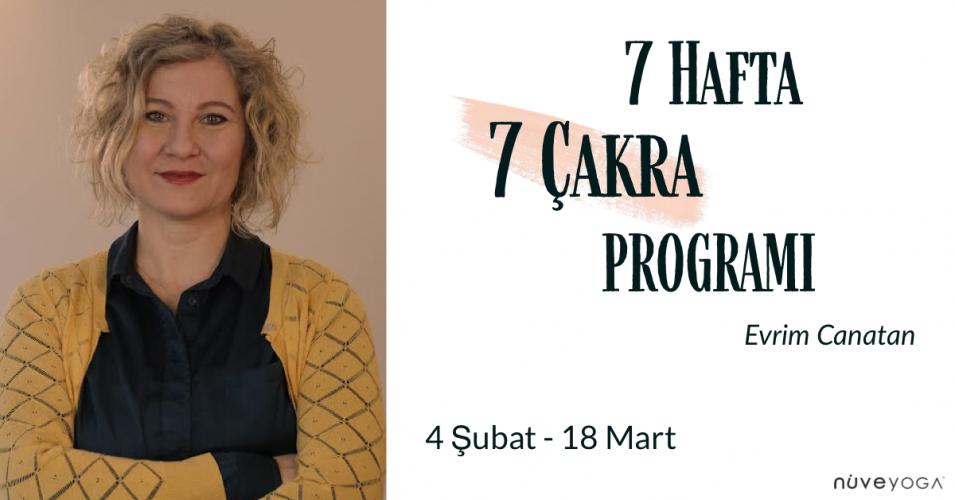 7 Hafta 7 Çakra Programı
