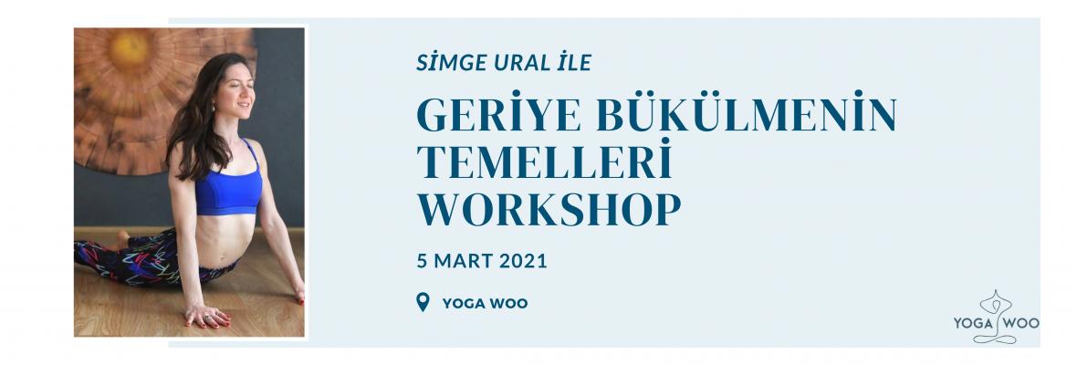 Simge Ural ile Geriye Bükülmenin Temelleri Workshop
