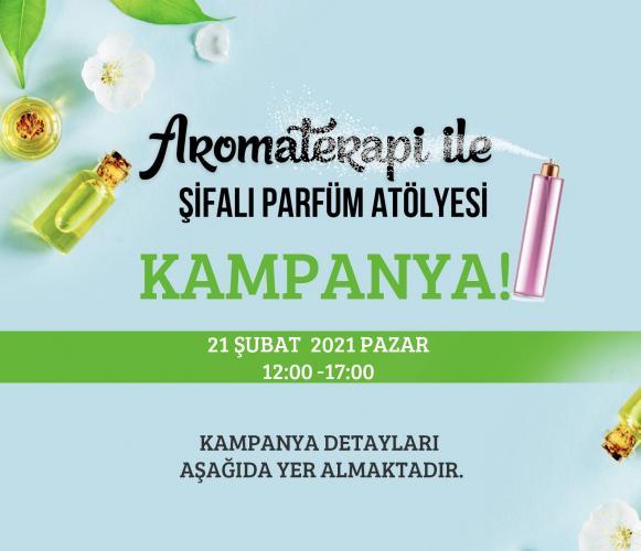 Aromaterapi Yağları İle Şifalı Parfüm Atölyesi