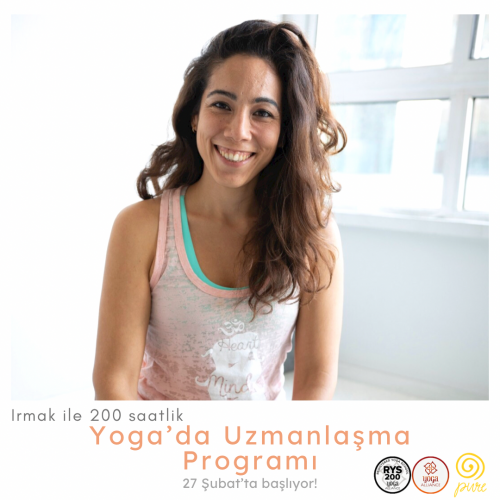 Irmak ile 200 saat Yoga'da Uzmanlaşma Programı Irmak Bayındır