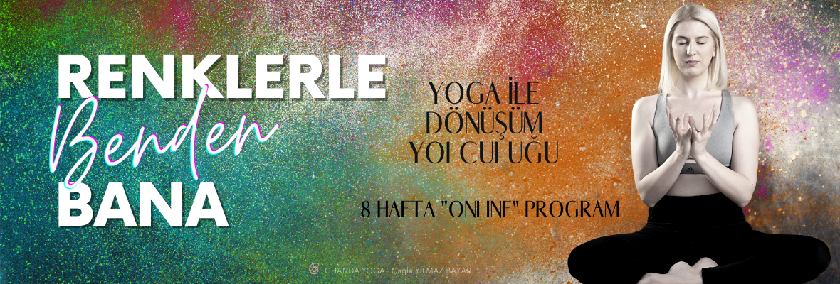 Yoga & Meditasyon Programı Renklerle Benden Bana