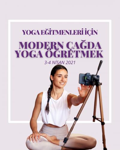 Modern Çağda Yoga Öğretmek Çağla Yılmaz Bayar
