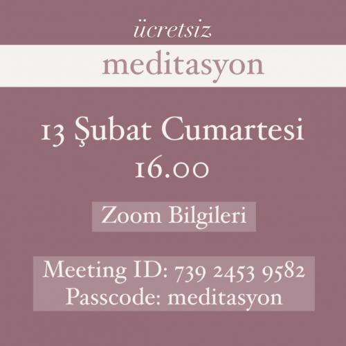 Ücretsiz Meditasyon