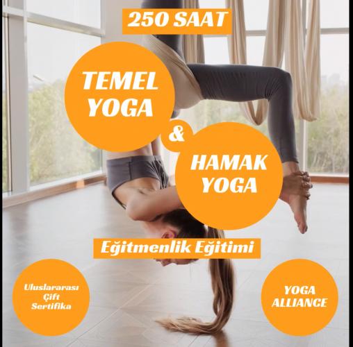 250 Saat Temel ve Hamak Yoga Uzmanlık Programı Nadiye Gülkan Türkdoğru