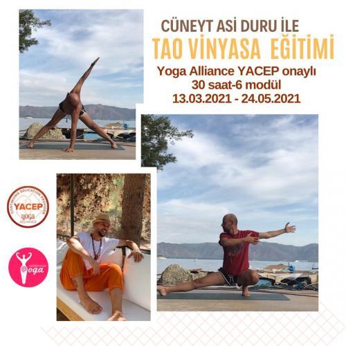 Tao Vinyasa Uzmanlık Programı- 30 saat Yoga Alliance Onaylı