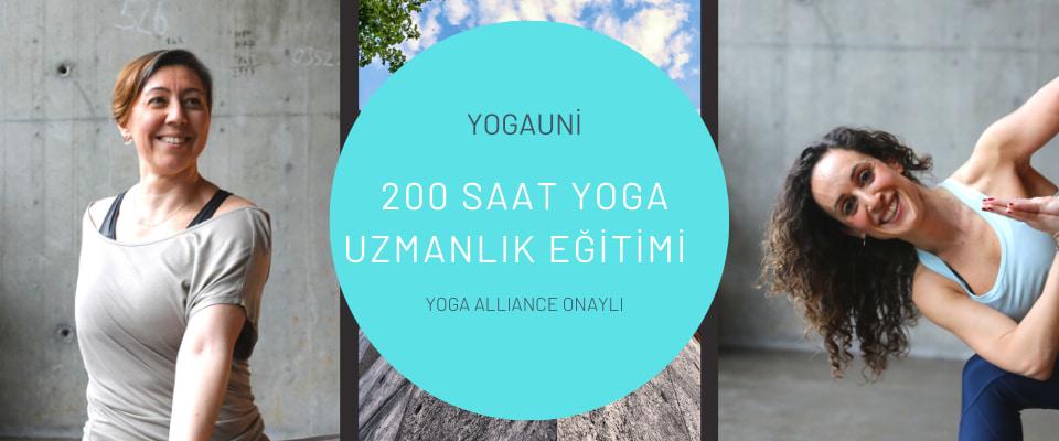 YogaUni 200 Saat Temel Uzmanlaşma Programı Nesteren Akçay