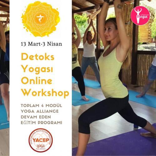 Detox Yogası Workshop/YACEP Programı Sinem Perek