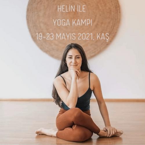 Helin Şahin ile Yoga Kampı Helin Şahin