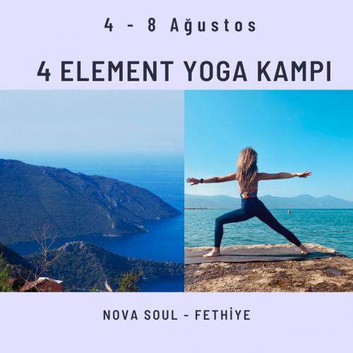 4 Element Yoga Kampı Özge Küçükkaya