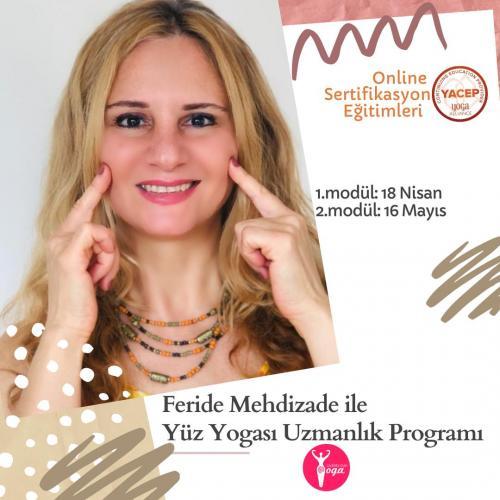 Feride Mehdizade ile YA Onaylı Yüz Yogası Sertifika Programı